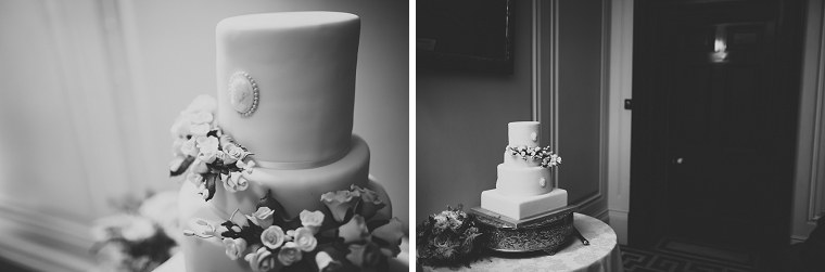 Wedding cake at Mount Ephraim in Kent
