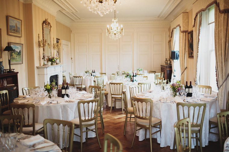 Photograph of the dining room at Mount Ephraim in Kent
