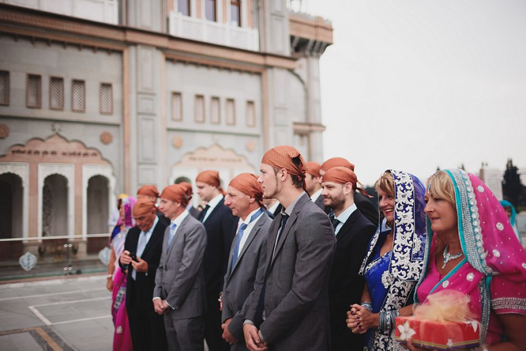 Wedding Photographer in Kent at The Gravesend Gurdwara 019