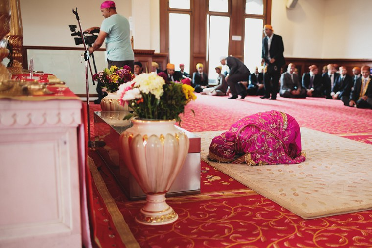 Wedding Photographer in Kent at The Gravesend Gurdwara 034
