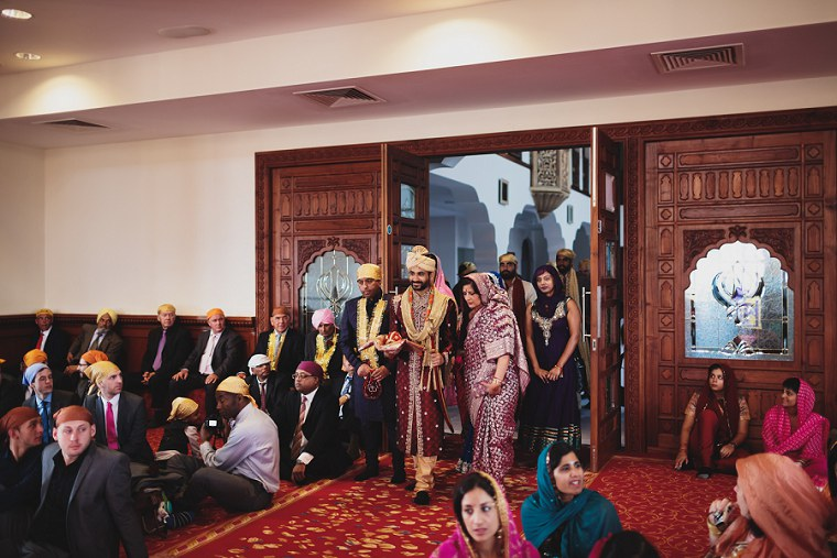 Wedding Photographer in Kent at The Gravesend Gurdwara 036