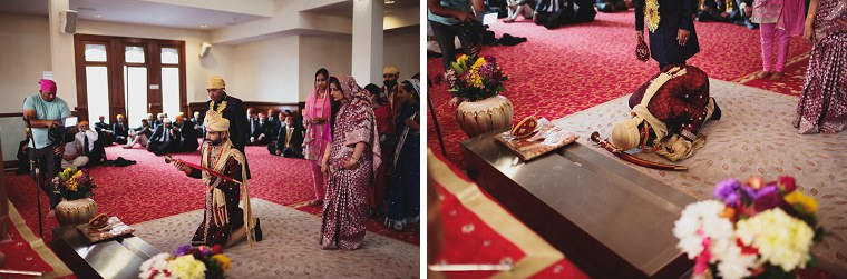 Wedding Photographer in Kent at The Gravesend Gurdwara 037