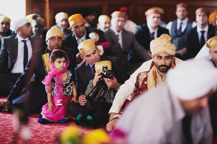 Wedding Photographer in Kent at The Gravesend Gurdwara 039