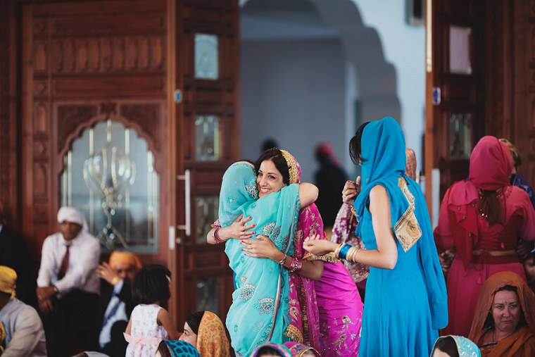 Wedding Photographer in Kent at The Gravesend Gurdwara 059