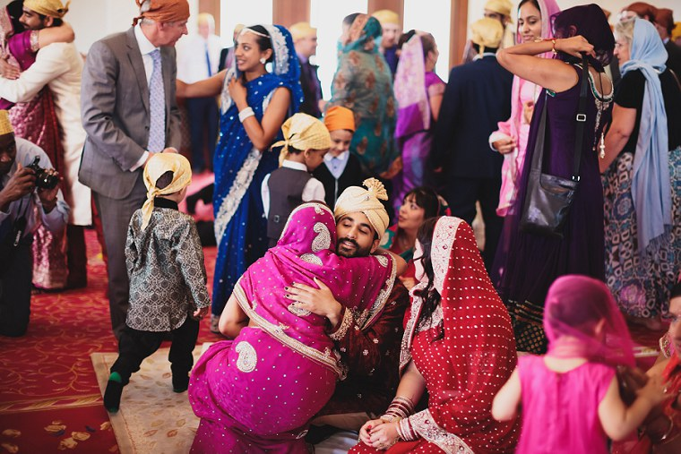 Wedding Photographer in Kent at The Gravesend Gurdwara 065