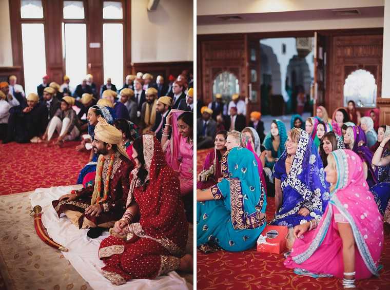 Wedding Photographer in Kent at The Gravesend Gurdwara 069