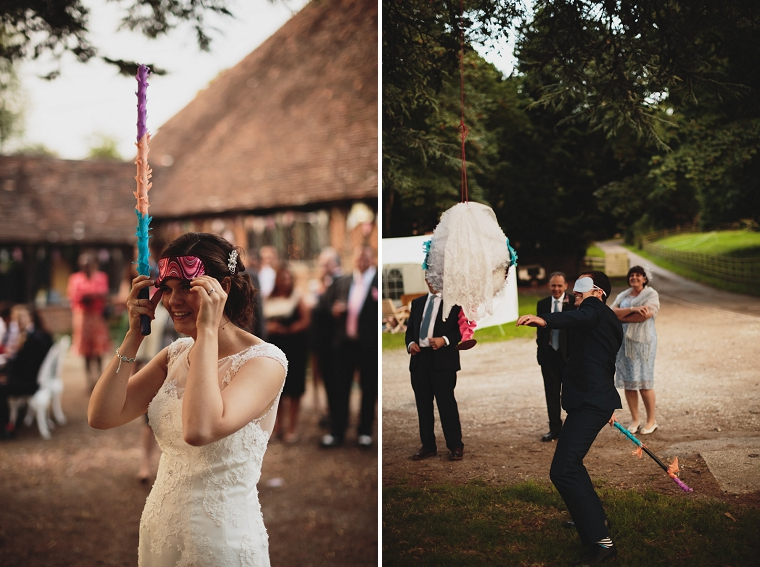 Wedding Pinata at Chilham