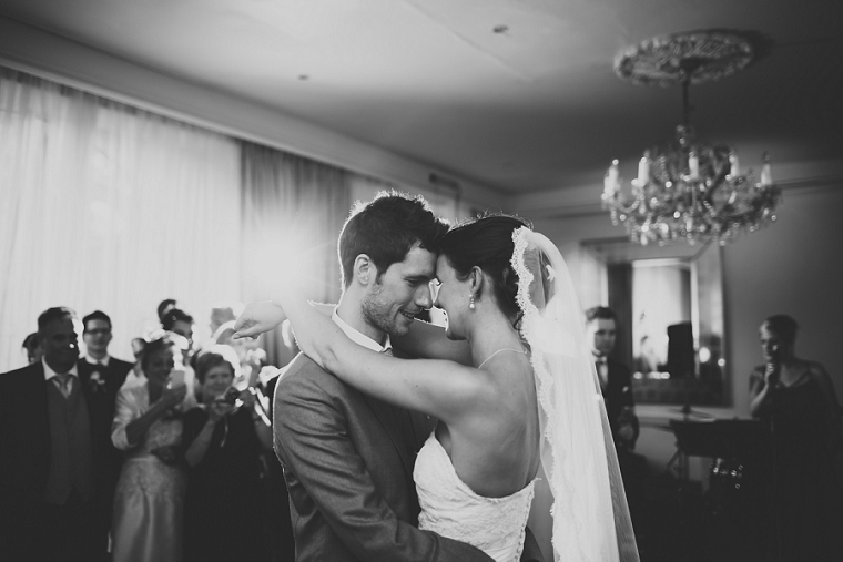 First Dance at Chilston Park Hotel