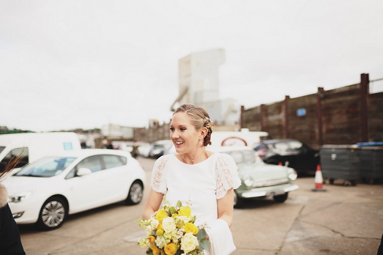 East Quay Whitstable Brewery Bar Wedding Photography 020