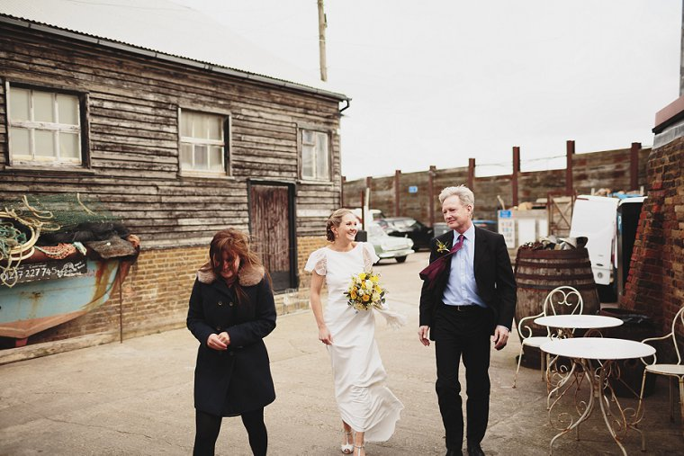 East Quay Whitstable Brewery Bar Wedding Photography 021