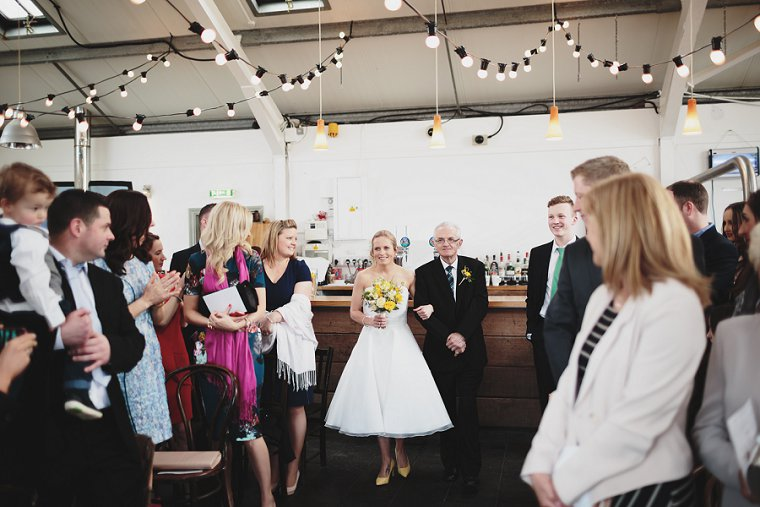 East Quay Whitstable Brewery Bar Wedding Photography 030