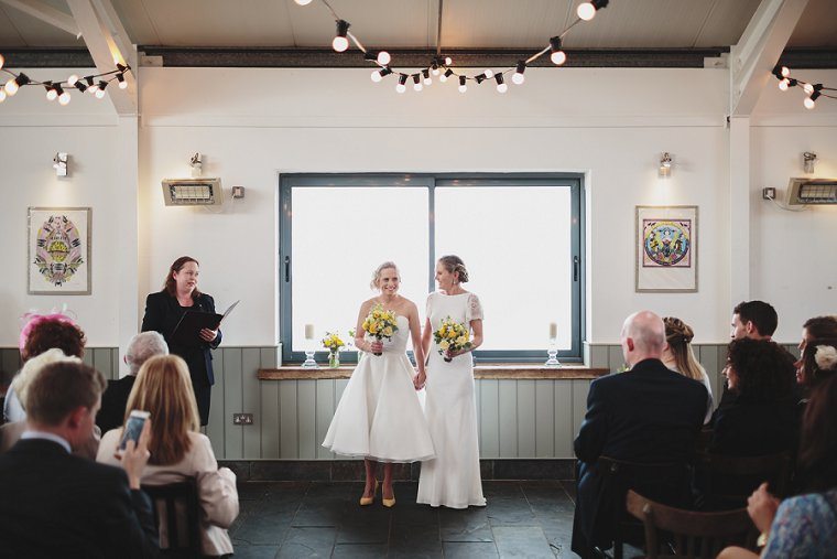 East Quay Whitstable Brewery Bar Wedding Photography 050