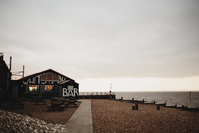 East Quay Whitstable Brewery Bar Wedding Photography 064