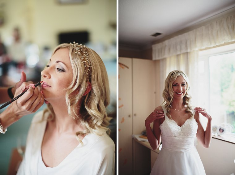 Oftley Place Country House Wedding Photography 005
