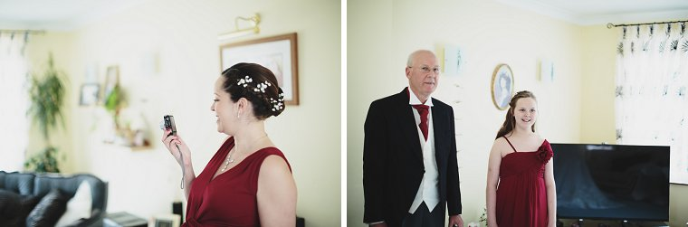 Oftley Place Country House Wedding Photography 011