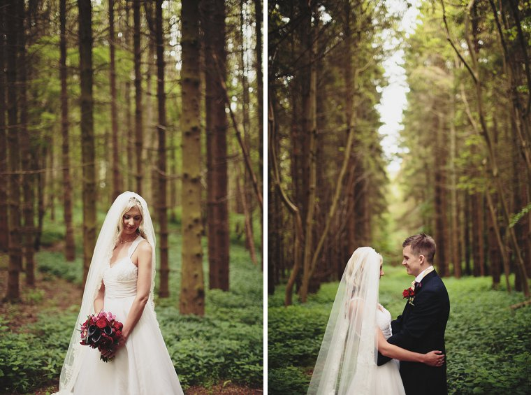 Oftley Place Country House Wedding Photography 034
