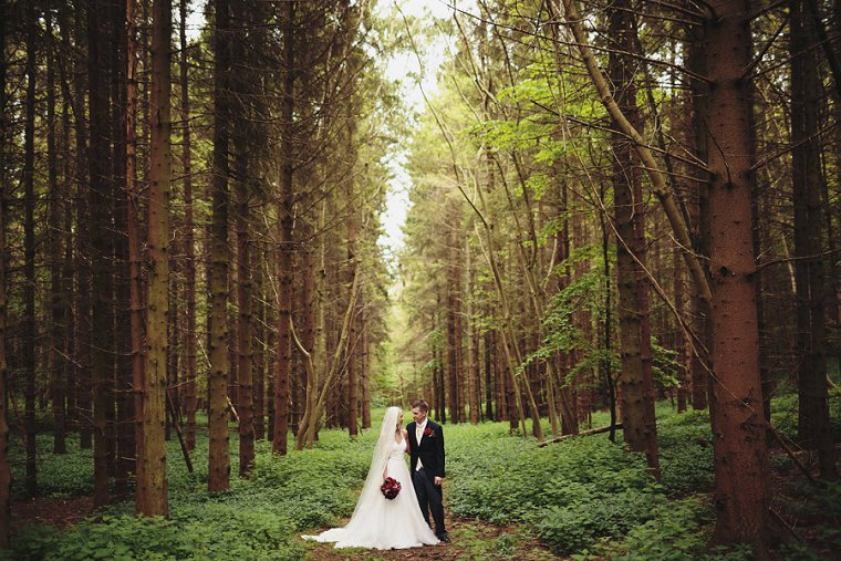 Oftley Place Country House Wedding Photography 036