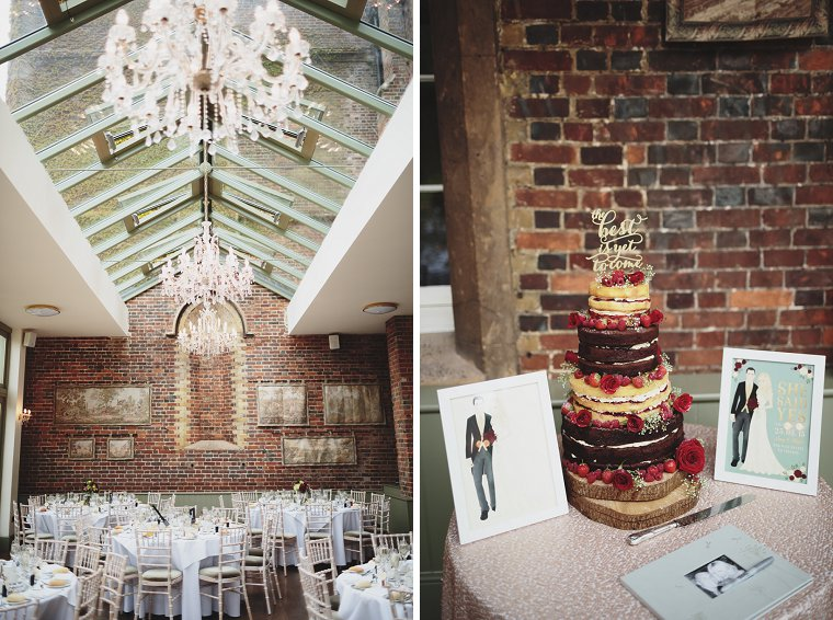 Oftley Place Country House Wedding Photography 056