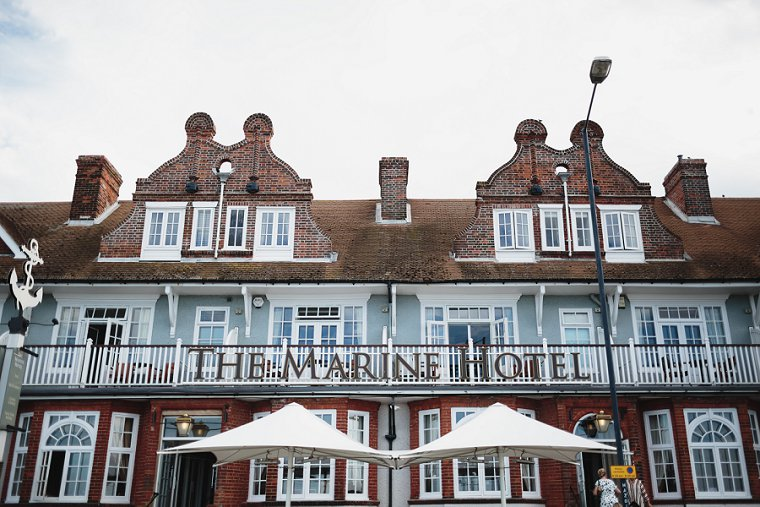 The Marine Hotel Whitstable Wedding Photography 058