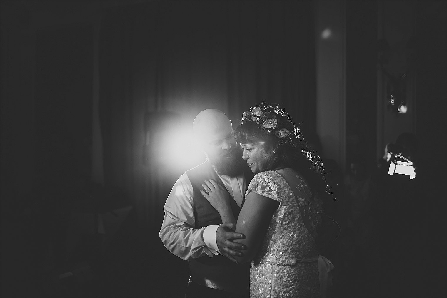 First dance at The George in Sussex