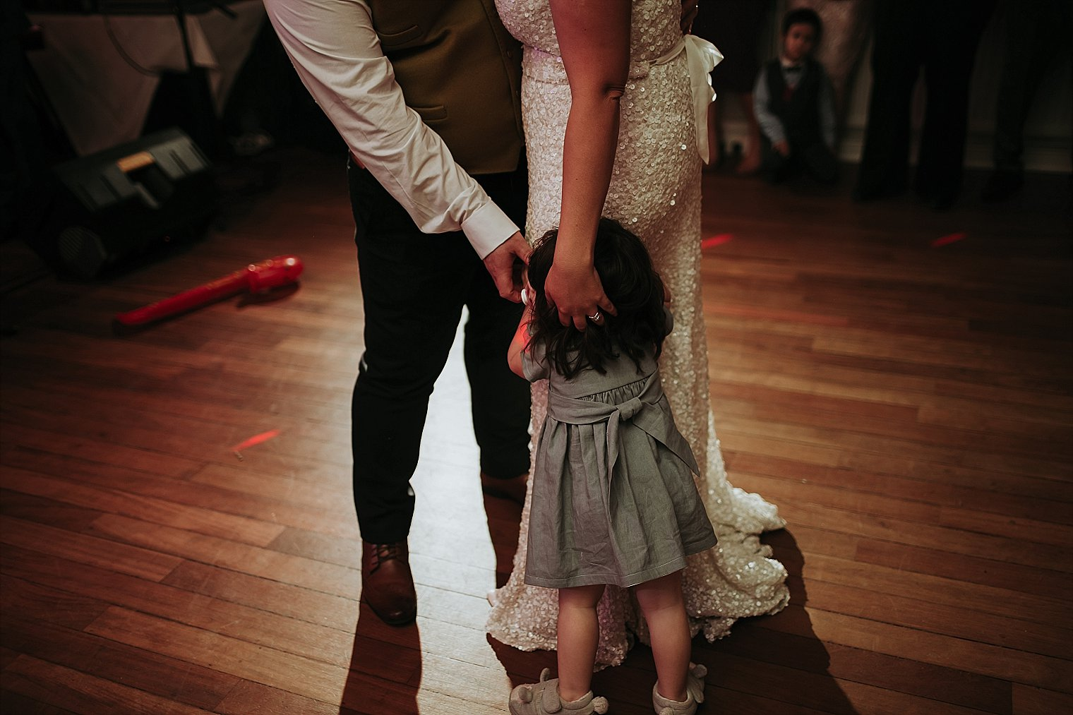 Flowergirl on the dancefloor